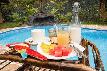 breakfast forest lodge costa rica