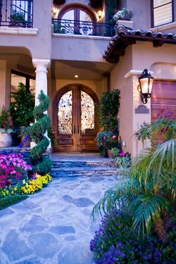 Coronado Residence, Courtyard Entry