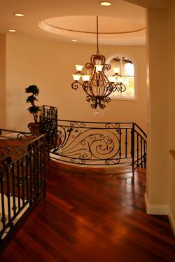 Coronado Residence, Stair Rail