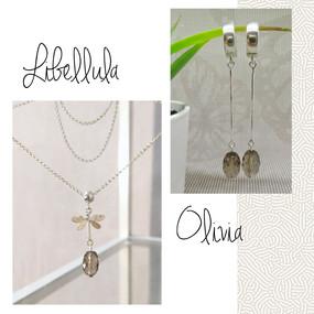 сотуар libellula  серьги olivia