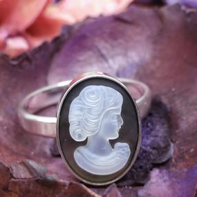 кольцо cammeo