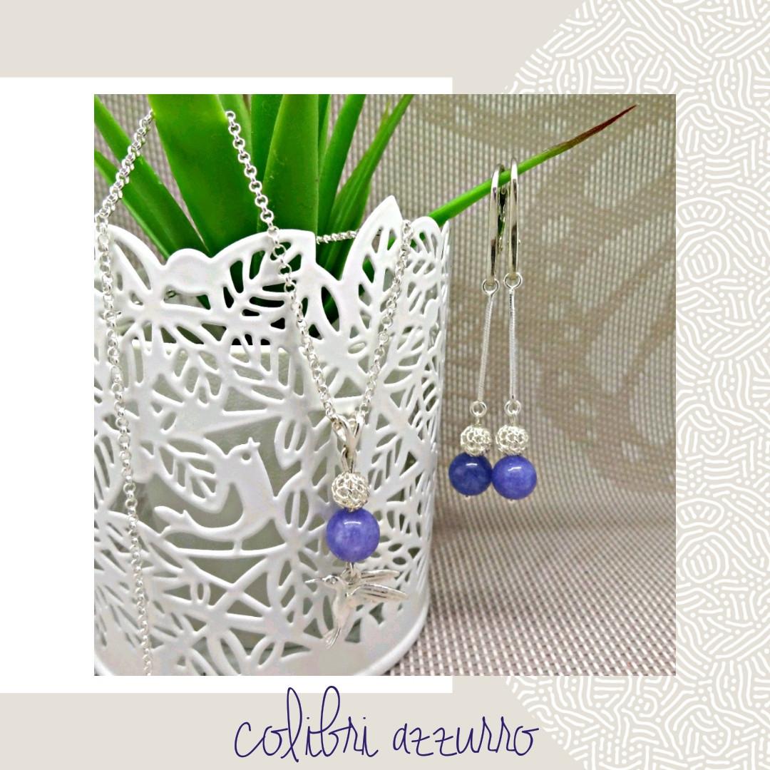 сотуар & серьги colibri azzurro