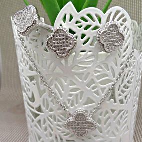jewels-set quadrifoglio