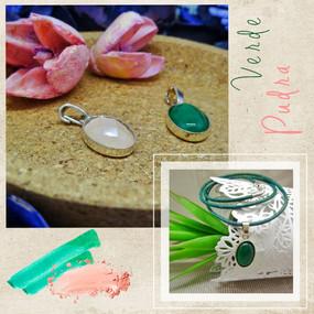кулоны pudra & verde