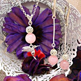 сотуар & серьги colibri rosato