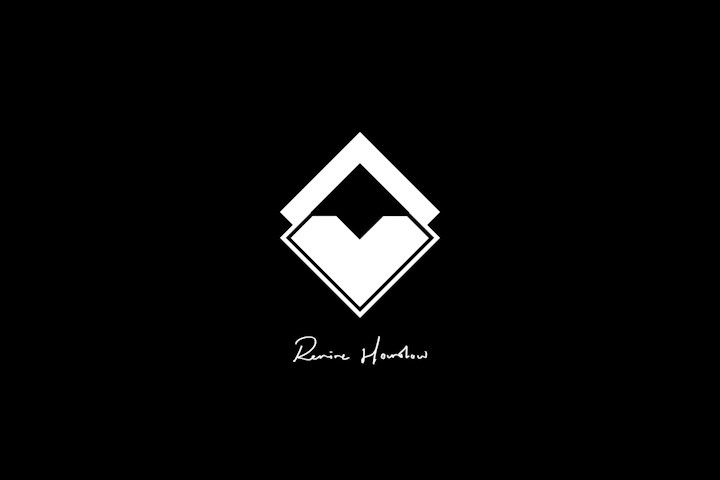 New Revive Logo (White on Black) - Low Q