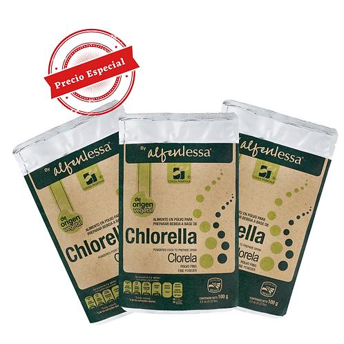 Chlorella 3 pack