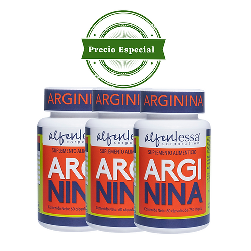 Arginina 3 pack