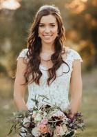 Beautiful Fall Wedding Makeup