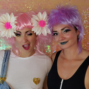 Wig Party Makeup