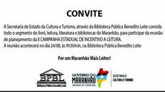 Reunião de preparação da II Campanha Estadual da Leitura