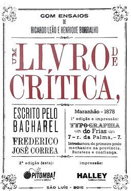 Um livro de Crítica