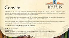 Reunião de apresentação do projeto da 10ª FELIS