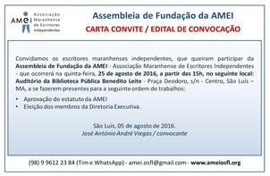 Assembleia de Fundação da AMEI