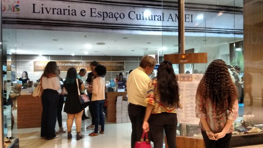 15 de abril 2017 - Abertura Livraria e Espaço Cultural AMEI
