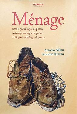 Ménage antologia trilíngue de poesia - AMEI - Antonio Aíton e Sebastião Ribeiro