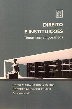 Direito e instituições: temas contemporâneos
