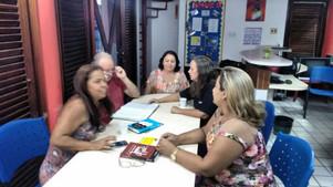 Reunião da AMEI no Farol da Educação no Renascença