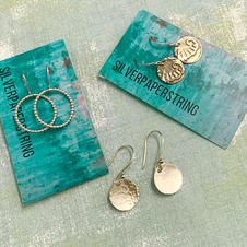 Silver Earring Workshop with Silverpaperstring