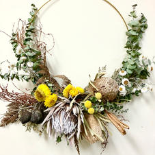 Everlasting Floral Wreath with Neisha