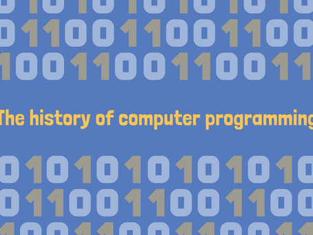 Programming History Fun Facts
