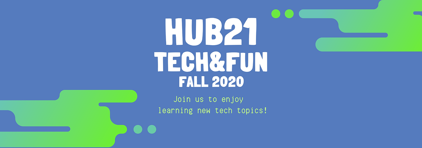 Join us to enjoy learning new tech topic