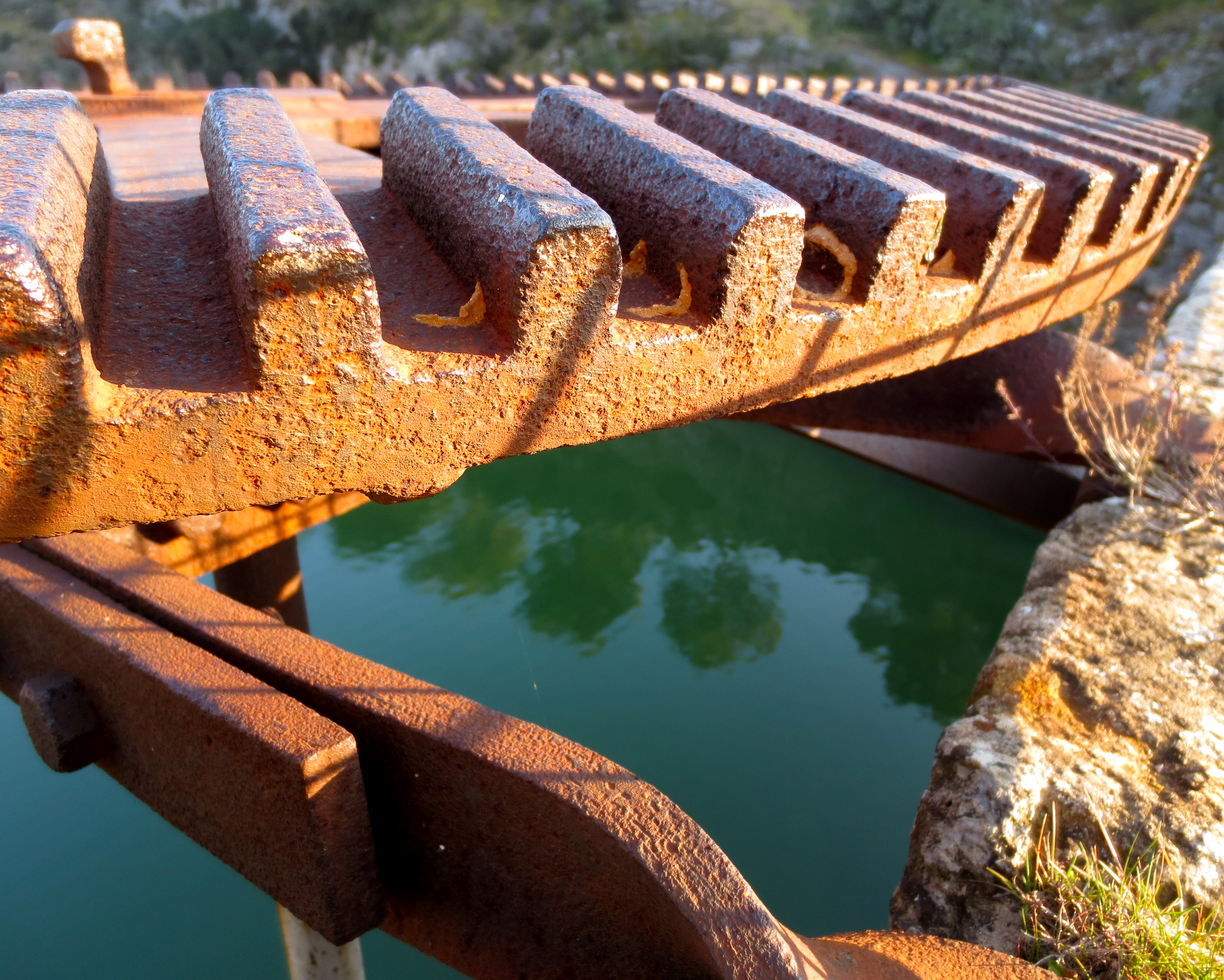 Rust and water