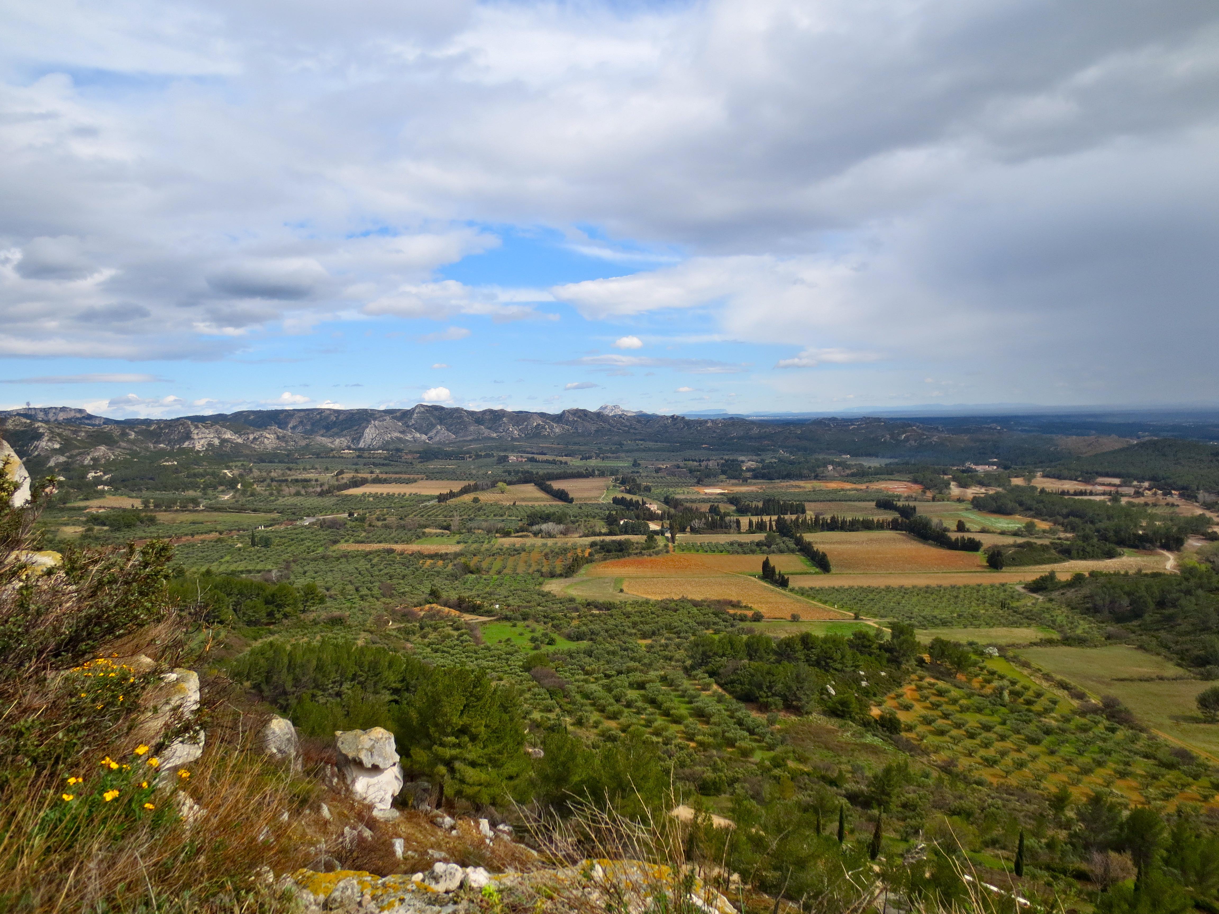 Lookout from Les Baux