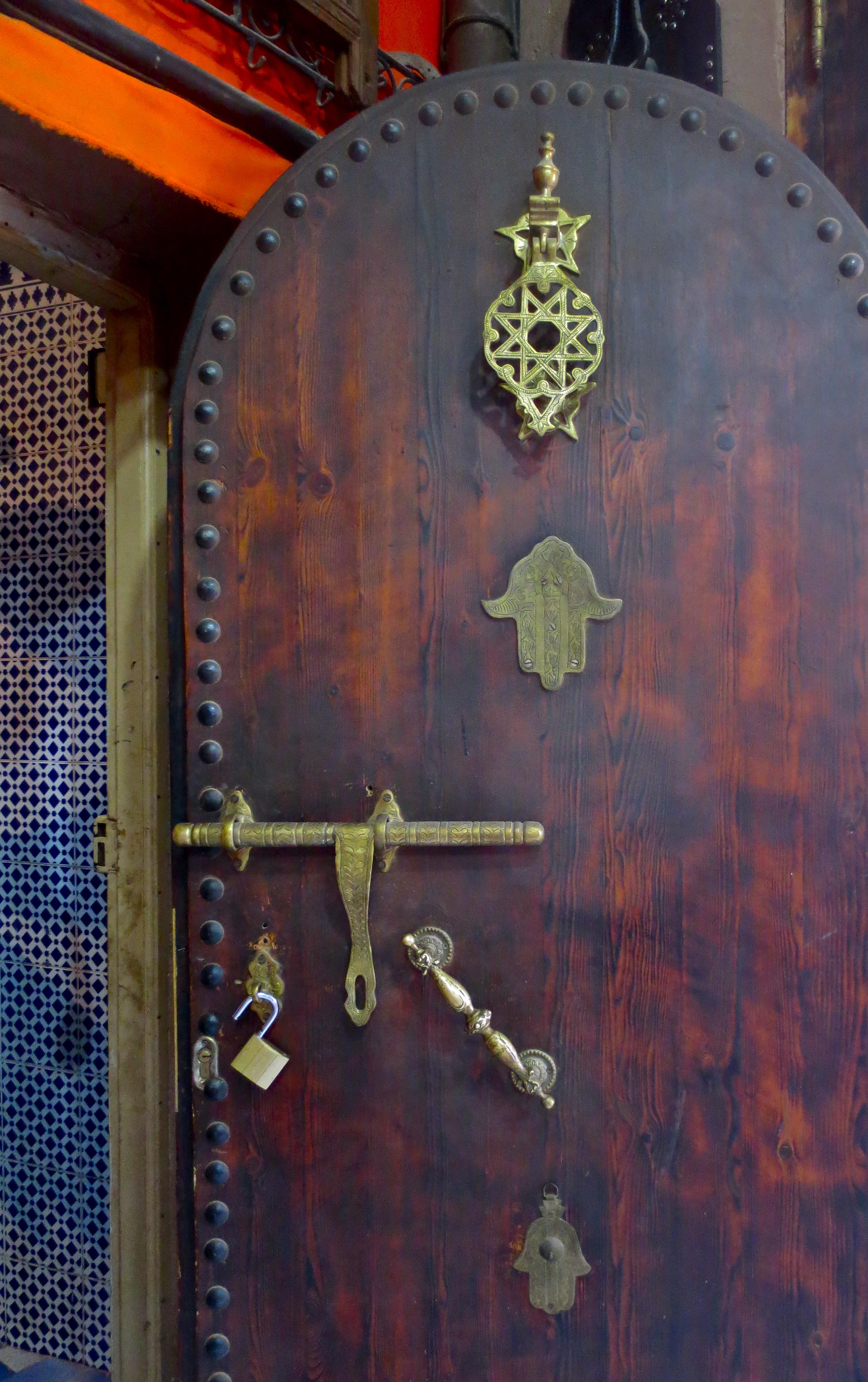 Berber door