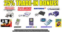 Nintendo Retro Trade Bonus 12-28-20