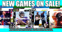 EA Games Sale 1-18-21