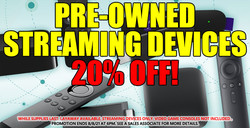 Streaming Device Sale 7-19-21