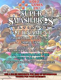 Super Smash Bros Ultimate Tournament CRE