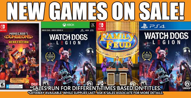 Games Sale 2020 11-22