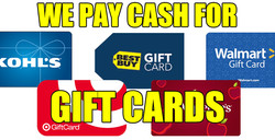 We Pay Cash Gift Cards