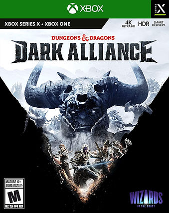 Dungeons & Dragons Dark Alliance Xbox.jp