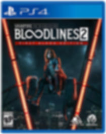 Vampire Masquerade Bloodlines 2 PS4 TEMP