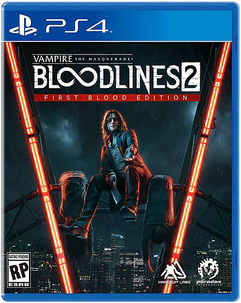 Vampire Masquerade Bloodlines 2 PS4 TEMP