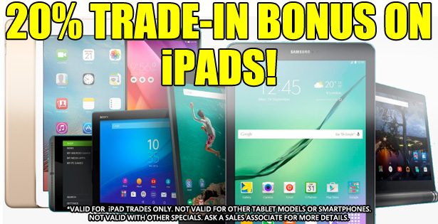 iPad Trade Bonus 2-1-21