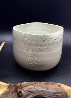 Vase cache-pot en grès