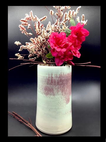 "Vase ""B"" porcelaine"
