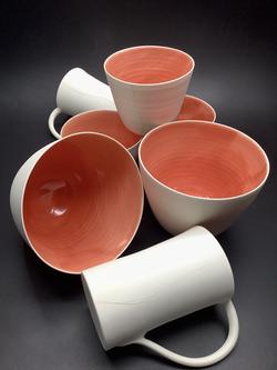 Porcelaine corail