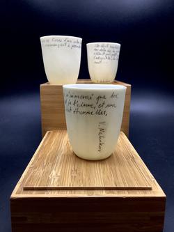 Tasse porcelaine