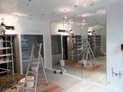 L'aménagement de la boutique