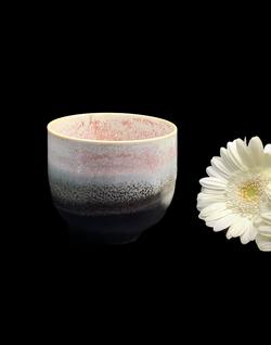 Tasse thé porcelaine Francine L