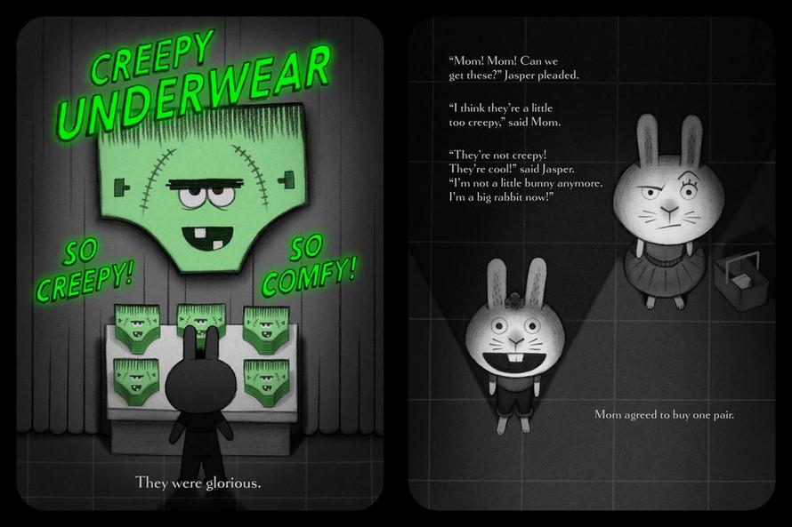 Summer Pick: Creepy Pair of Underwear!