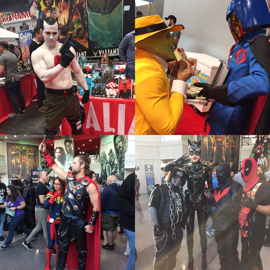 NY Comic Con: Connecting People To Their Inner Super Powers