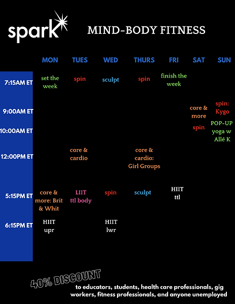 3:1 spark schedule.png