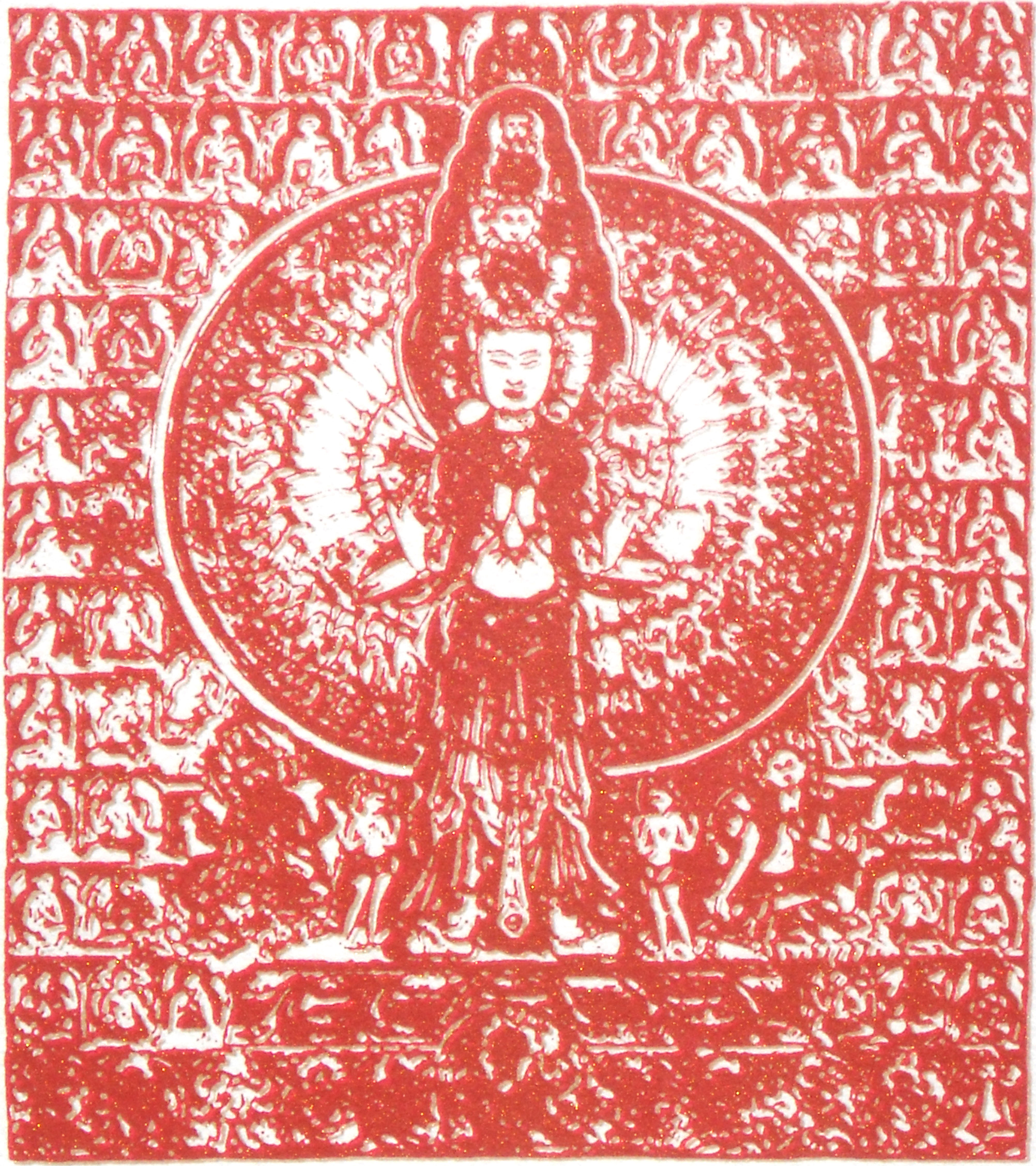 Red Avalokiteshvara 2011