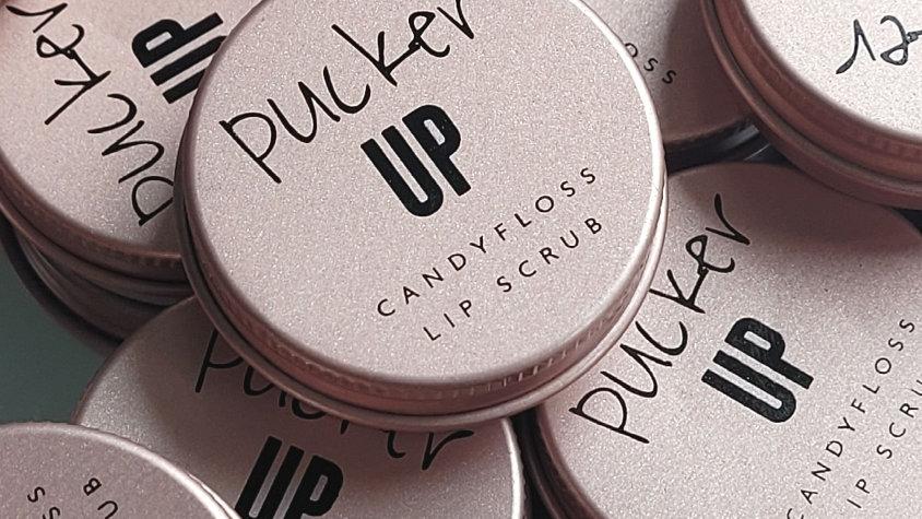 Pucker Up -  Candyfloss Lip Scrub